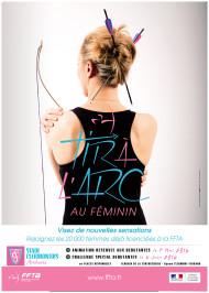 Affiche Stade Clermontois Archerie 2 - Tir a l'arc au féminin 2016
