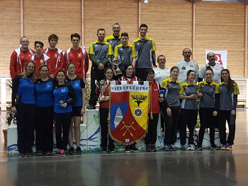 Podium Coupe d'Auvergne Salle 2017