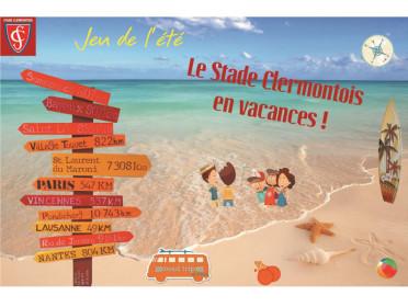 Le Stade Clermontois en vacances