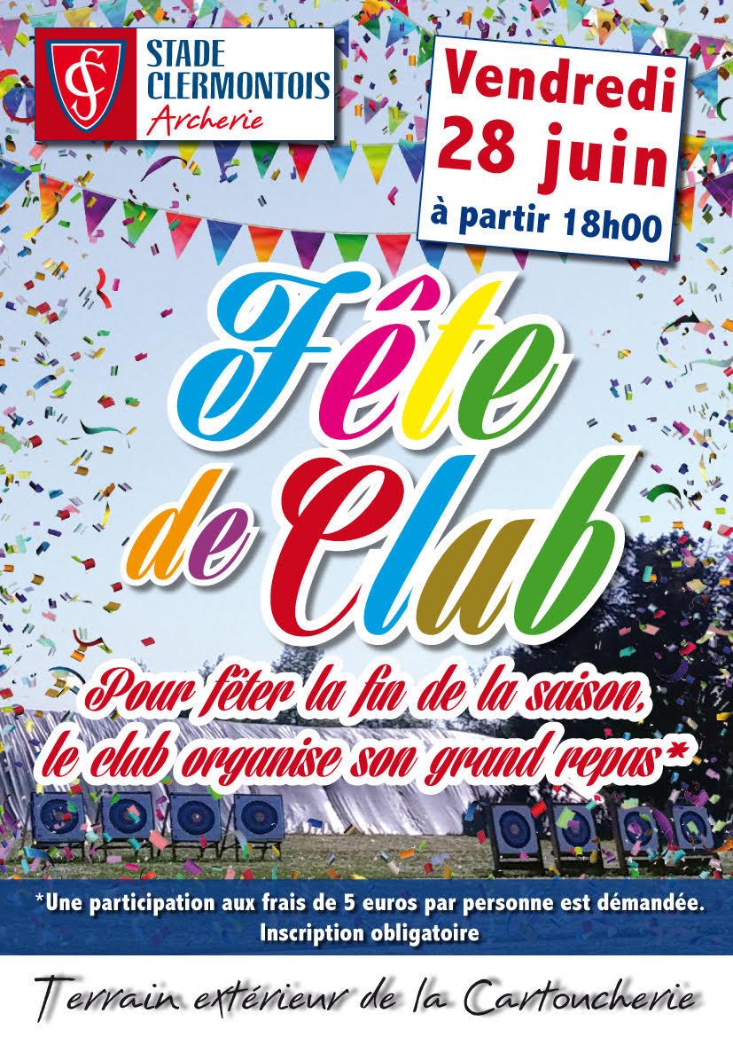 fête club 2019