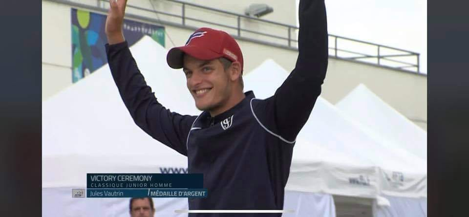 Jules, vice-champion france